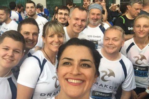 Drakos beim JP-Morgan-Lauf 2018
